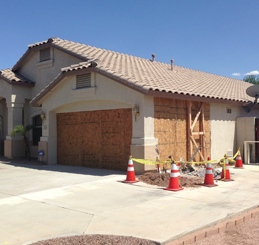Storm Damage Repair Gilbert AZ